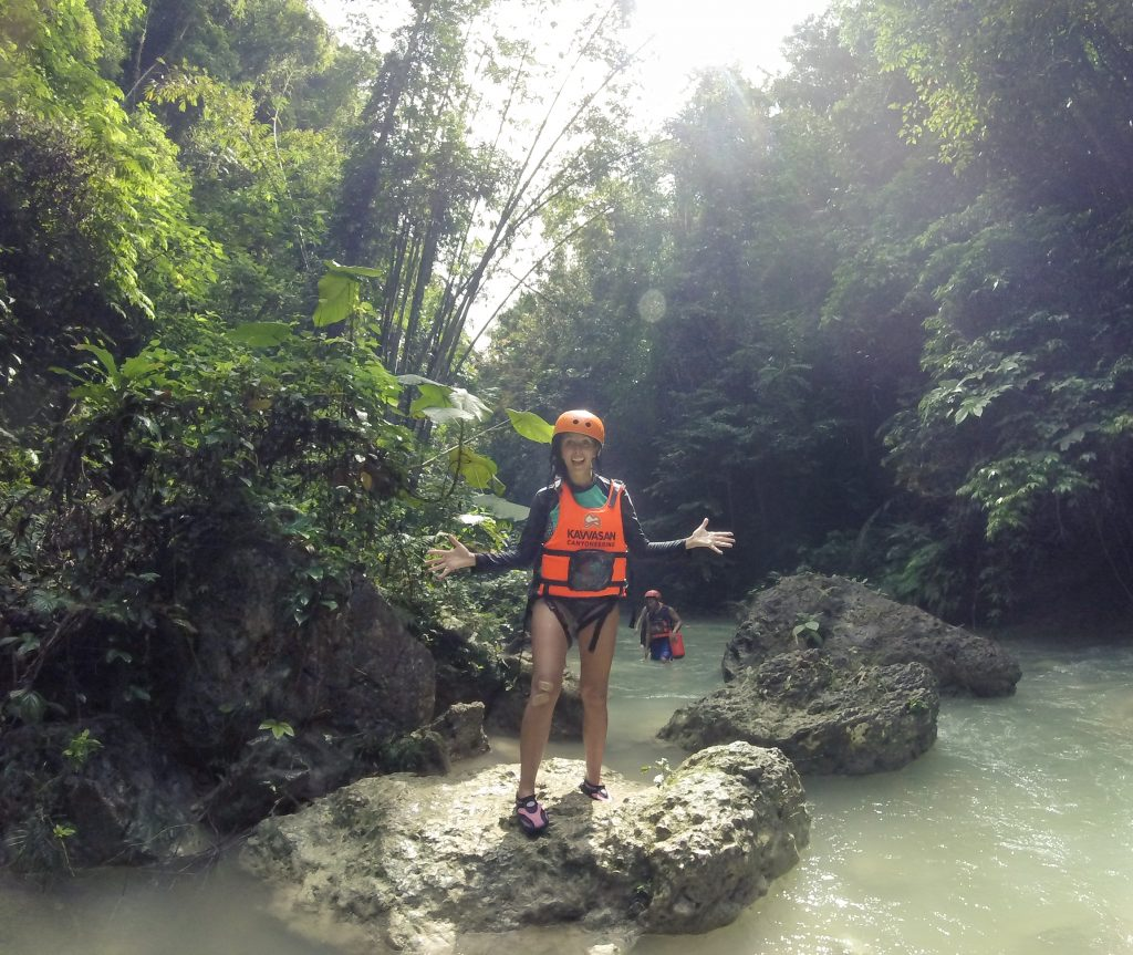 Jungle Canyoneering Cebu Selfie