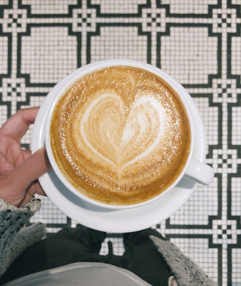 Coffee shop evanston tile floor