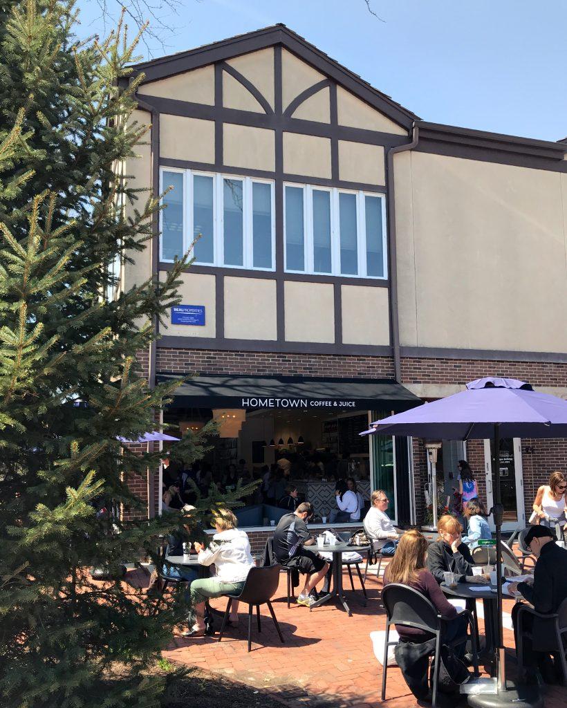 Coffee Shop Patio