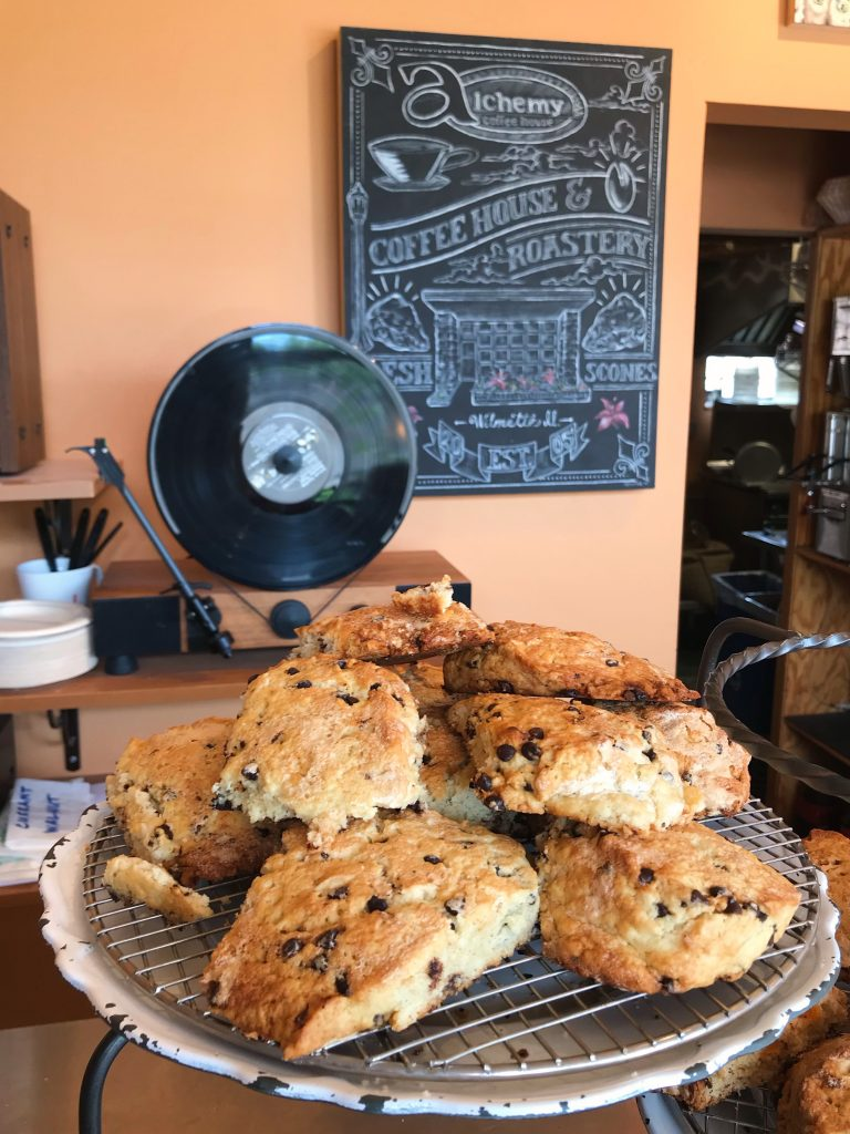 coffee shop scones