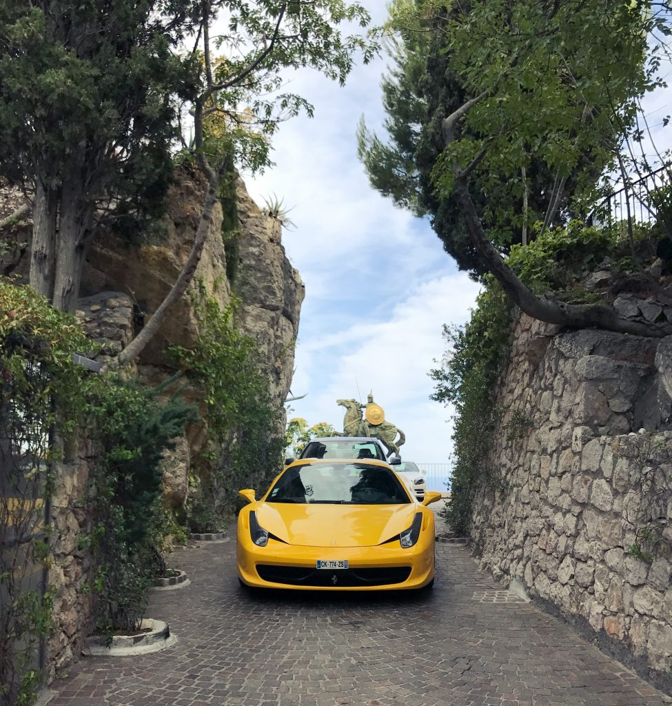Cote d'Azur Exotic Car