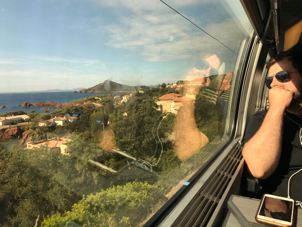 French Riviera Train Ride