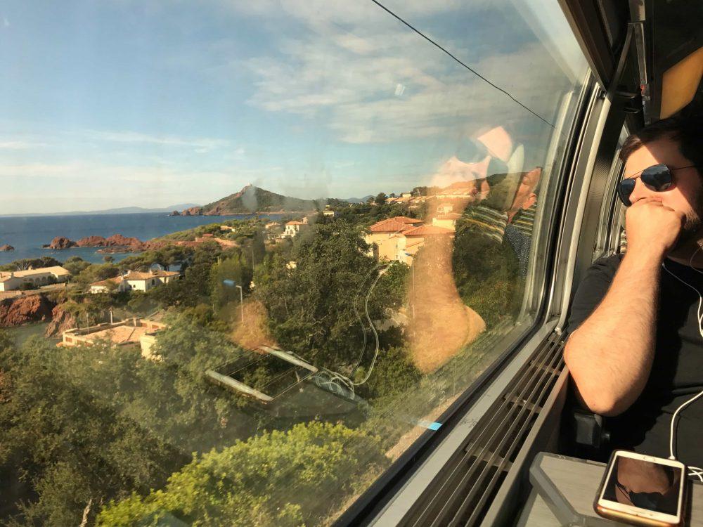 French Riviera Train Ride