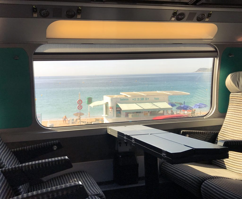 French Riviera Train Travel
