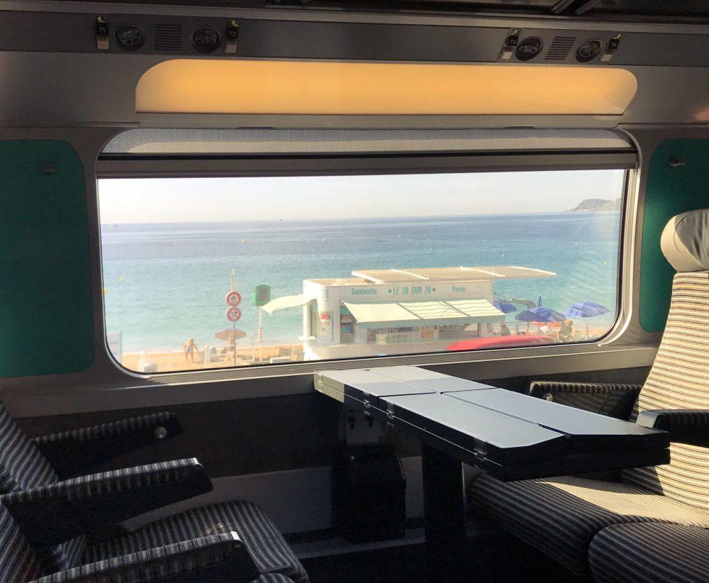 French Riviera Train Travel