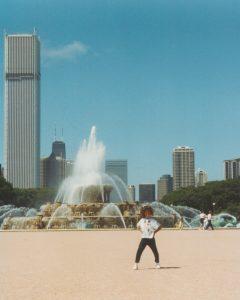Chicago Skyline Child