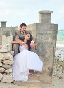 Eleuthera Wedding Couple