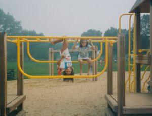 Monkey Bars Child