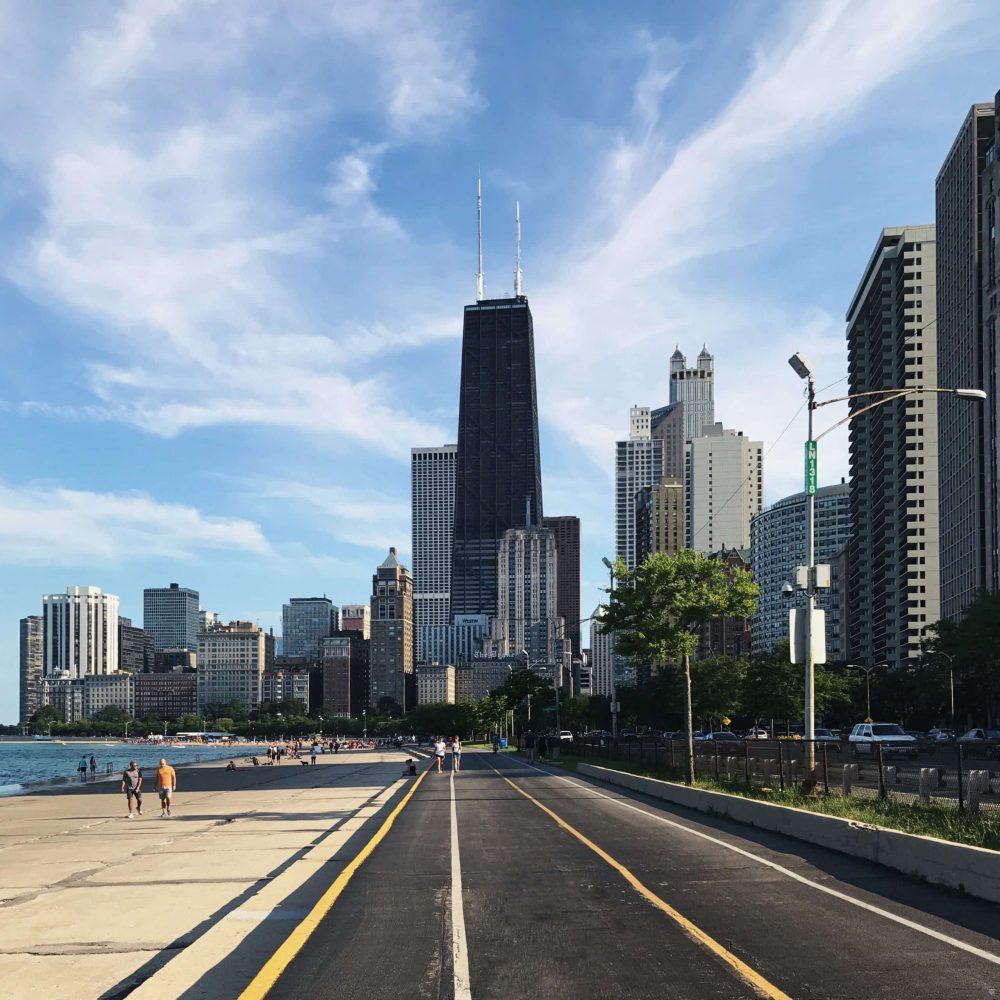 chicago bike path