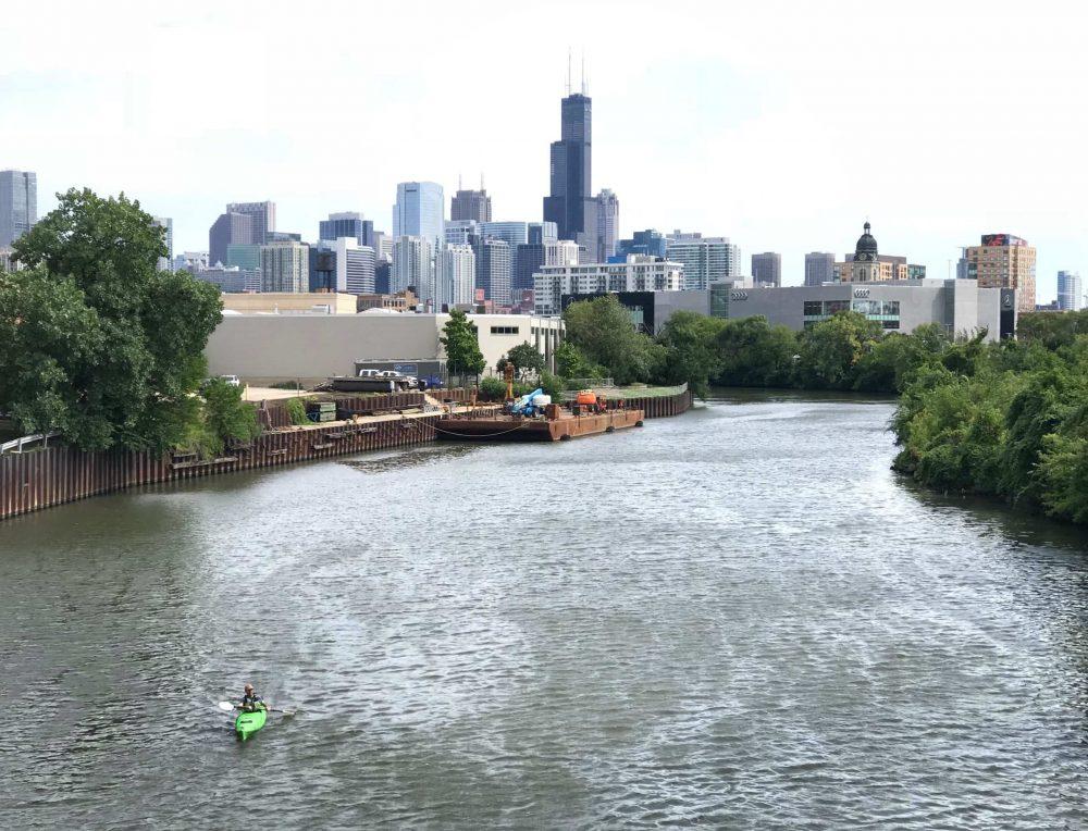 Chicago Kayaking Workout