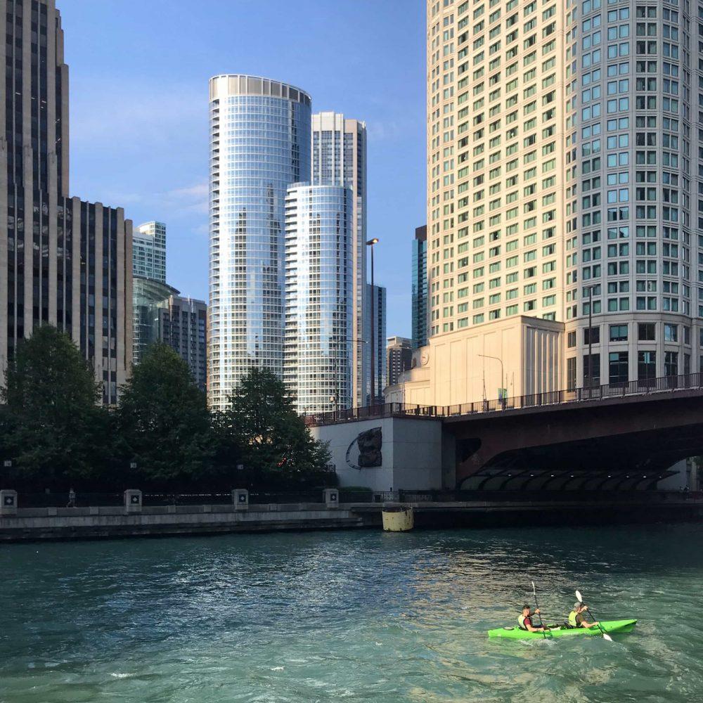 Kayaking Chicago Workout Outside
