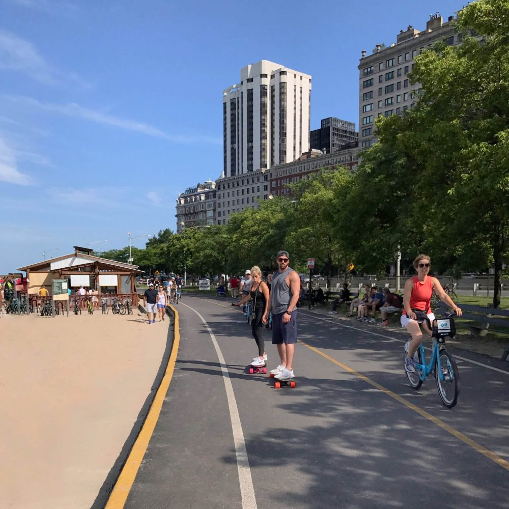 Lakeshore Path Chicago Workout