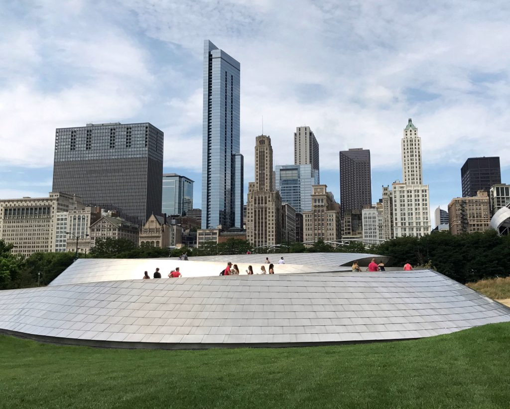 Millennium Park Chicago workout