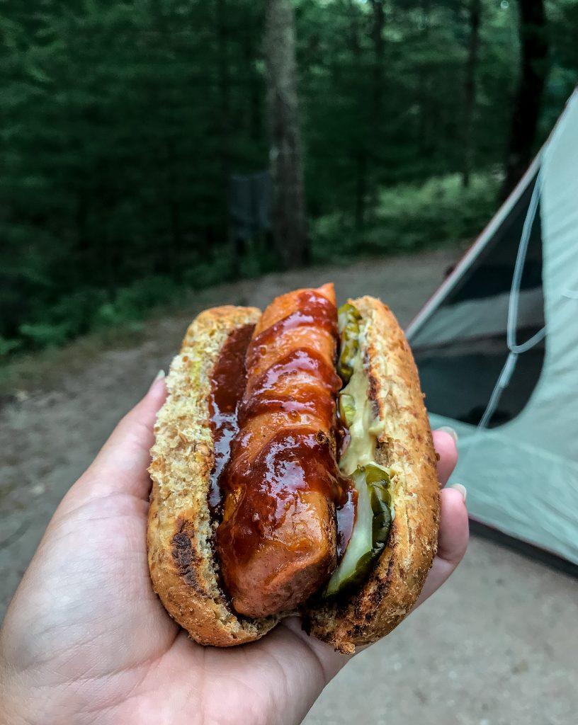 Vegan Camping