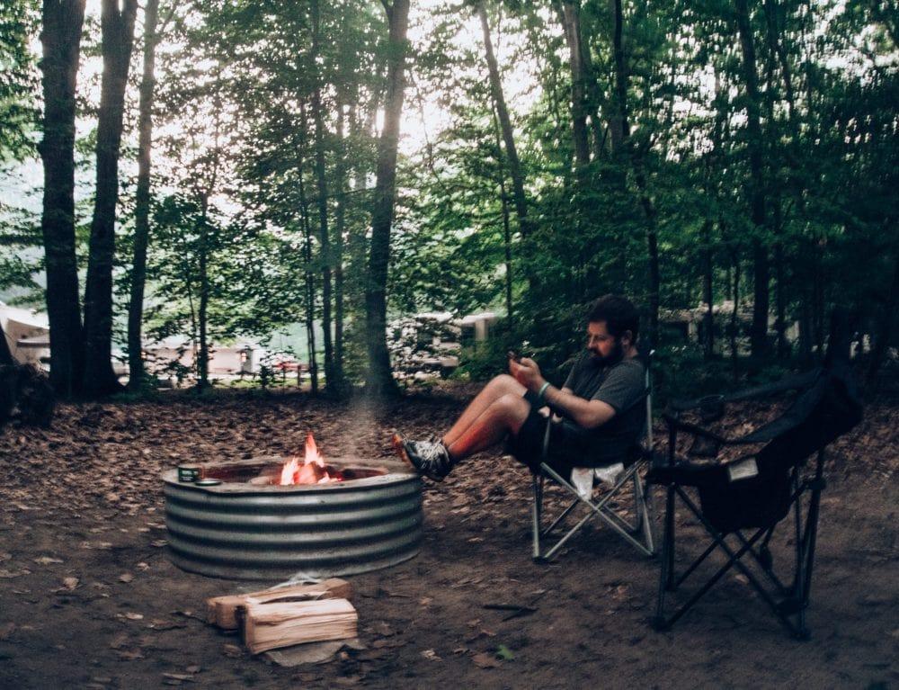Michigan Campfire