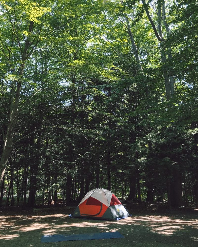 Michigan Camping Hoffmaster