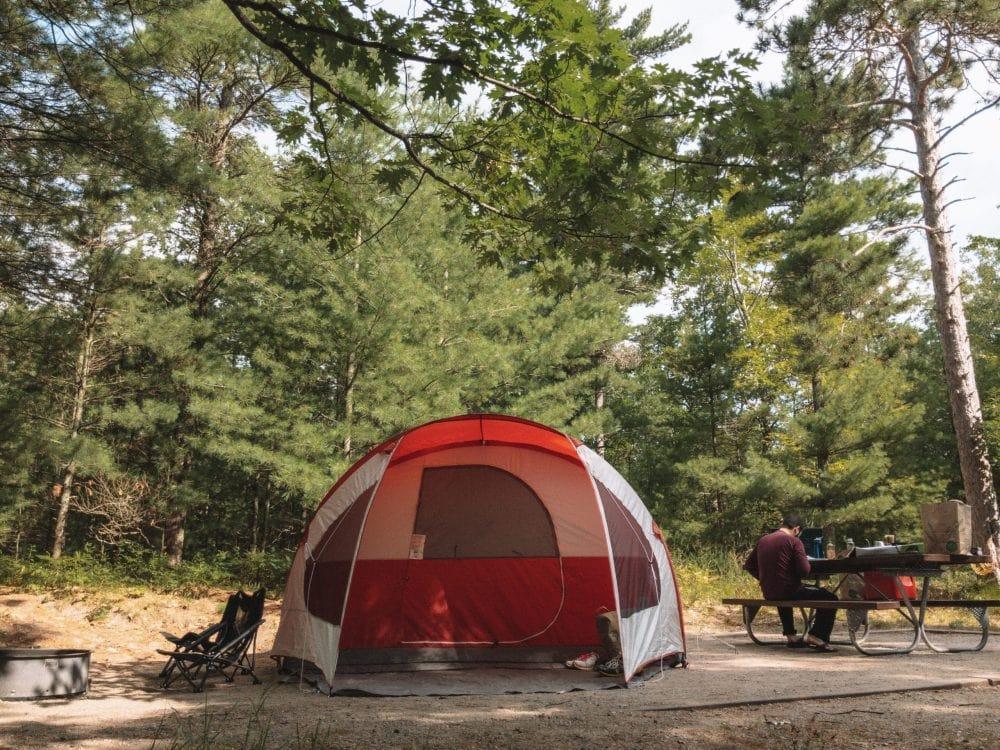 Michigan Camping