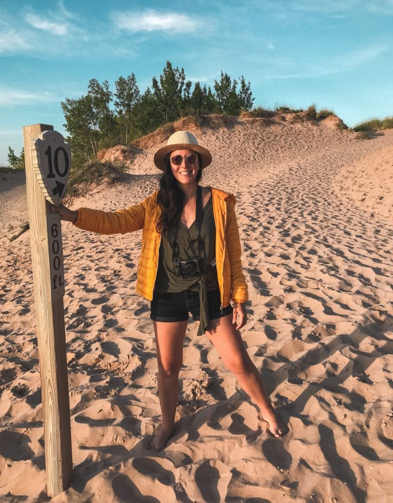 Michigan Dune Hiking