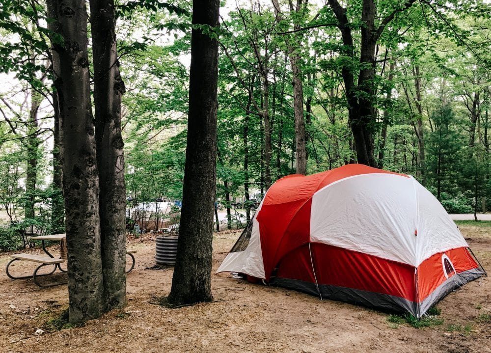 Silver Lake Campground Michigan