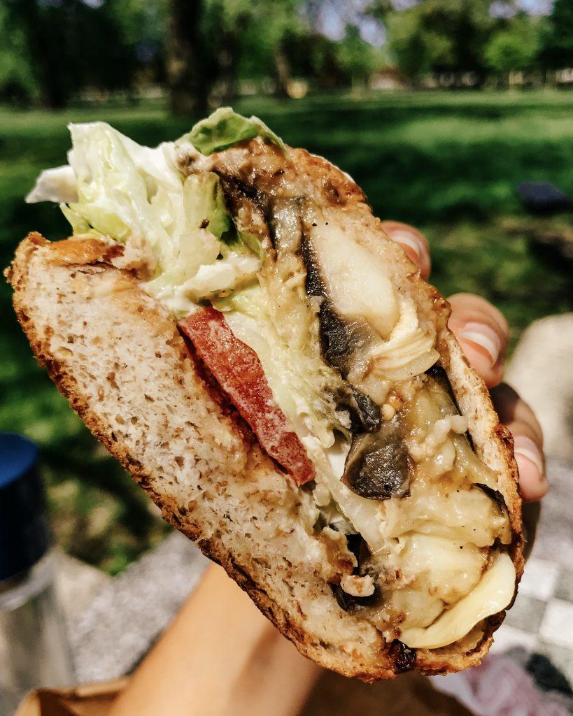Cafe 53 Vegan Sandwich